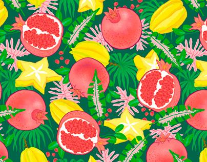 FRUITS - Pattern Design for Lafayette Fashion