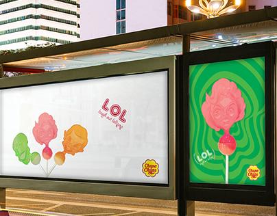 Advertising : Chupa Chups 'Laugh Out Lollipop'