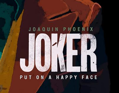 JOAQUIN PHOENIX - JOKER - DIGITAL PAINTING