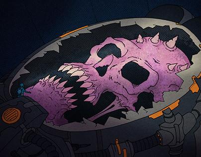 The God Planet - comic