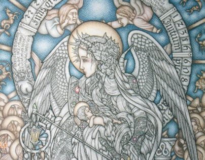 Fantastic & Literary Art - Drawings 2002 - 2006.