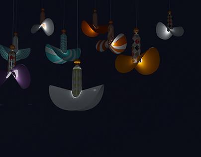 Colombina lamp/ Коломбина
