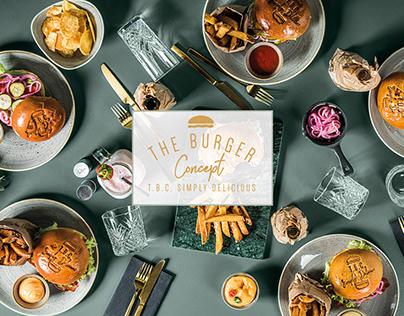 The Burger Concept, Design, Art Direction, branding.