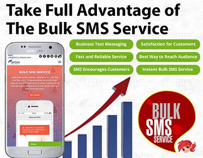 Take the Full Advantage of The Bulk SMS Service
