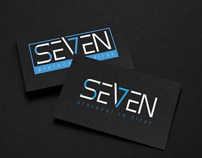Word Mark Logo -Seven
