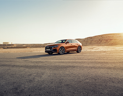 AUDI Q8 - DRAGON ORANGE