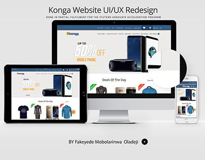 KONGA UI/UX DESIGN