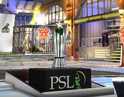 PSL 4 Virtual Set