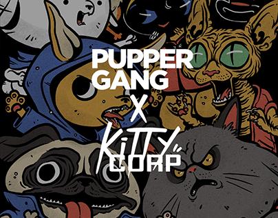 Pupper Gang x Kitty Corp