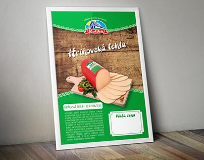 """Advertising banner """"Hriňovská tehla"""""""