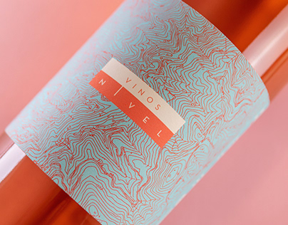 Wine label design for Vinos Nivel