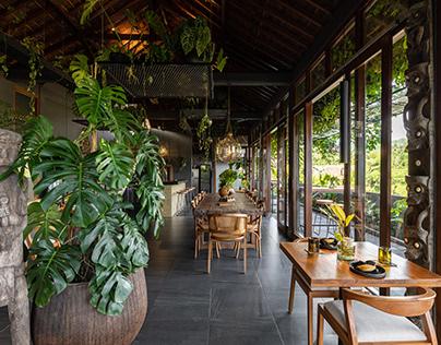 DS Bali Villa Photography - Asri Dining at Samanvaya