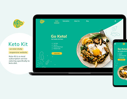 Keto Kit - UX Design