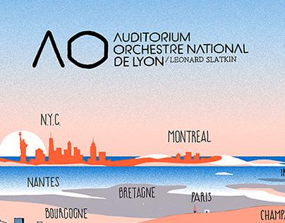 Lyon's Auditorium 2015/16 - Poster