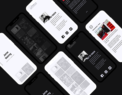 Webdesign - Portfoliosite