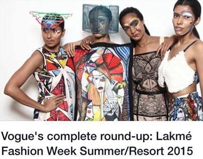 Lakame Fashion Week with Salita Nanda