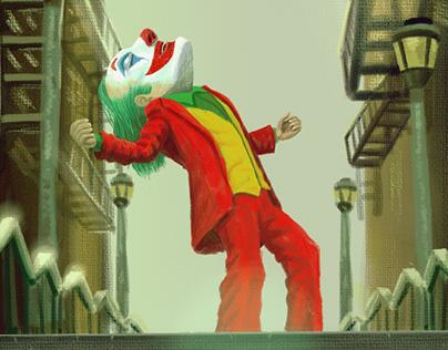 Joker Painting Poster 2019