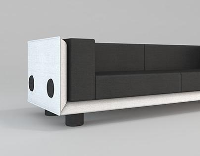 FUGA sofa design
