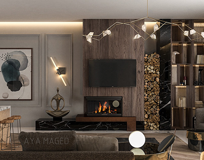 Mountain View Compound Modern Bedroom Design On Behance