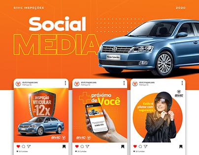 Social Media Sivic Inspeções