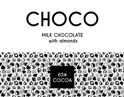 Milk choco package no.2