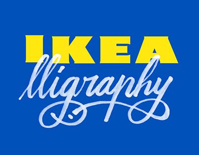 IKEA_lligraphy