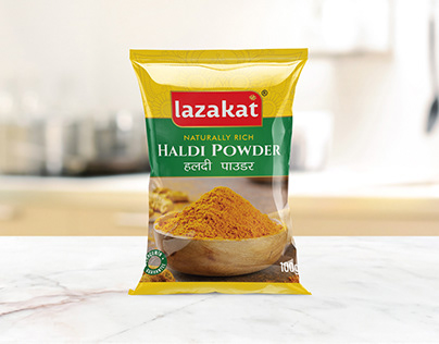 Lazakat Spcies Packaging Designs | Haldi , Lal Mirch