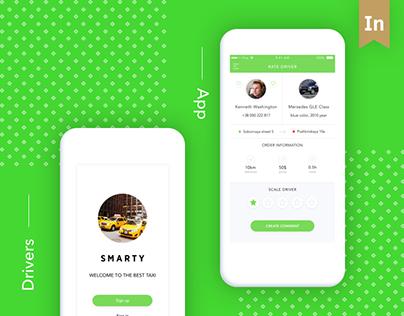 Modern taxi app