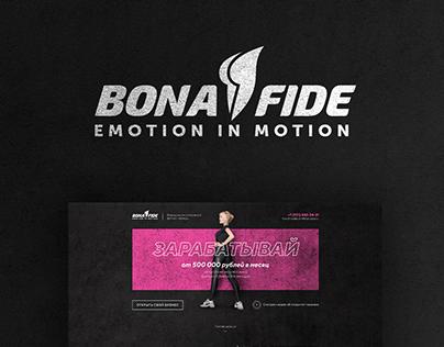Bona Fide: presentation design & website