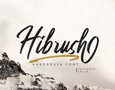 Hibrush - Handbrush Font (FREE FONT)