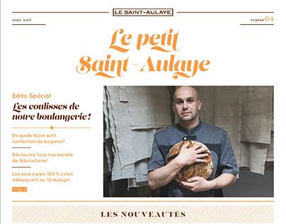 Le petit Saint-Aulaye - journal d'information papier