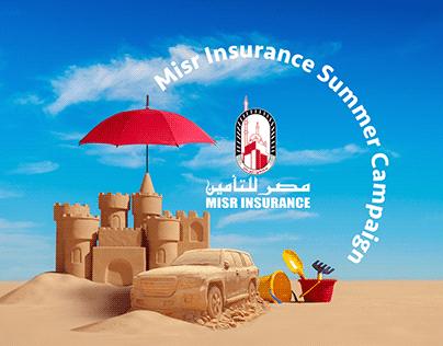 Misr Insurance Billboard Summer Campaign