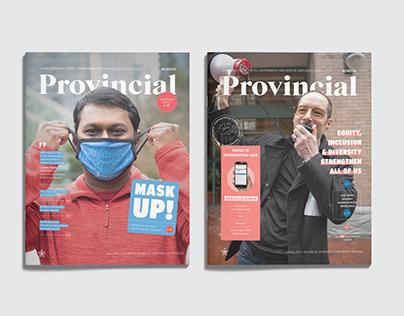 Provincial Magazine Design & Cover Photography