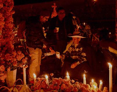 Los Rostros de Pátzcuaro en Día de Muertos.