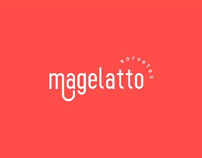 Identidade Visual: Magelatto Sorvetes