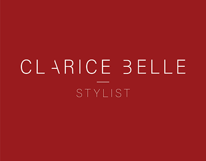 Logo + Business Card for Stylist Clarice Belle