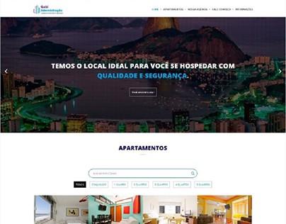 Website Responsivo: Gabi Administração