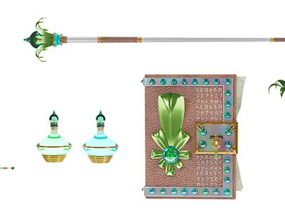 The Elven Sorcerer's Tools
