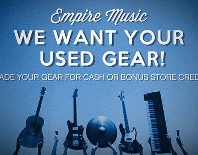 Empire Music Used Gear Web Ad