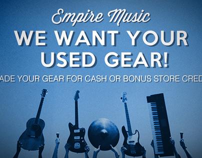 Empire Music Used Gear Web Ad