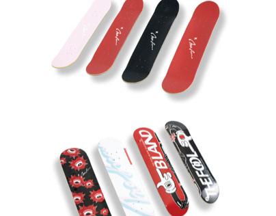 Bland-skateboard by Yang fan