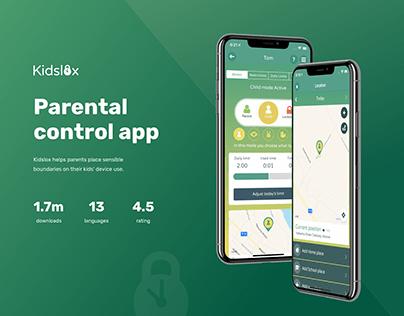 Kidslox - Parental control app