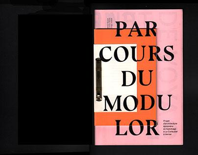 PARCOURS DU MODULOR