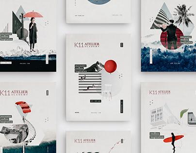 K11 Atelier Academy Magazines Series