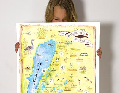 Nationalpark Sticker-Search