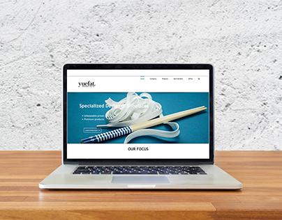 Rope & Webbing Web Design
