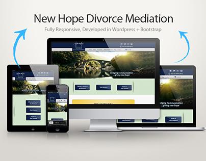 NHDM |  Wordpress | Bootstrap