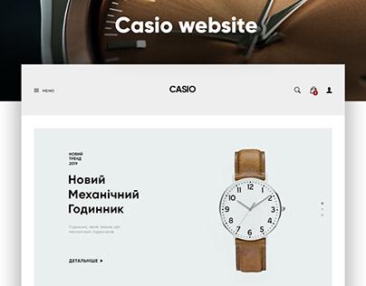 Casio website