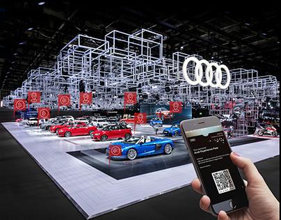 Audi Experience Pass - Mondial de l'Automobile 2016