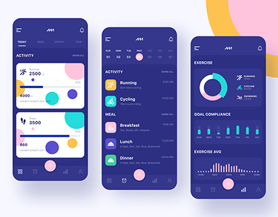 Mobile app - UI kit